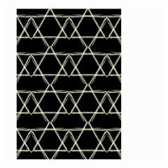 Star Of David   Small Garden Flag (two Sides) by SugaPlumsEmporium