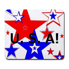The Patriot Usa Large Mousepads by SugaPlumsEmporium