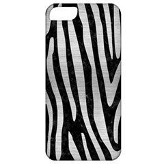 Skin4 Black Marble & Silver Brushed Metal (r) Apple Iphone 5 Classic Hardshell Case by trendistuff