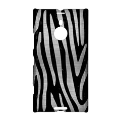 Skin4 Black Marble & Silver Brushed Metal (r) Nokia Lumia 1520 Hardshell Case by trendistuff