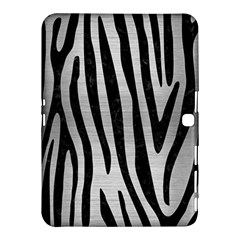 SKN4 BK MARBLE SILVER Samsung Galaxy Tab 4 (10.1 ) Hardshell Case  by trendistuff