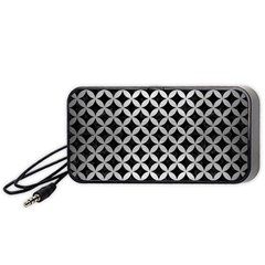 CIR3 BK MARBLE SILVER Portable Speaker (Black)  by trendistuff