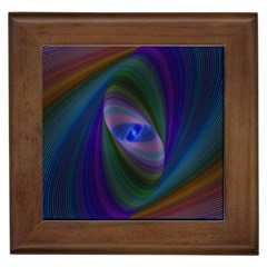 Eye Of The Galactic Storm Framed Tiles by StuffOrSomething