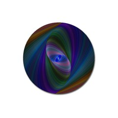 Eye Of The Galactic Storm Magnet 3  (round) by StuffOrSomething