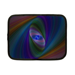 Eye Of The Galactic Storm Netbook Case (small)  by StuffOrSomething