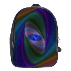 Eye Of The Galactic Storm School Bags (xl)  by StuffOrSomething