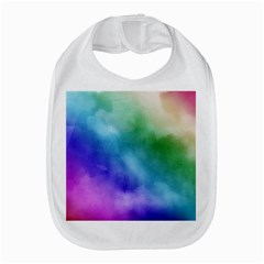 Rainbow Watercolor Bib by StuffOrSomething