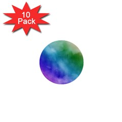 Rainbow Watercolor 1  Mini Buttons (10 Pack)  by StuffOrSomething