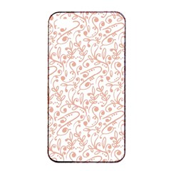 Hand Drawn Seamless Floral Ornamental Background Apple Iphone 4/4s Seamless Case (black) by TastefulDesigns