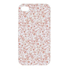Hand Drawn Seamless Floral Ornamental Background Apple Iphone 4/4s Hardshell Case by TastefulDesigns