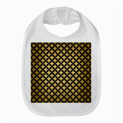 Circles3 Black Marble & Gold Brushed Metal (r) Bib by trendistuff