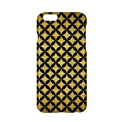 Circles3 Black Marble & Gold Brushed Metal (r) Apple Iphone 6/6s Hardshell Case by trendistuff