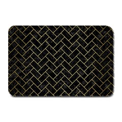 BRK2 BK MARBLE GOLD Plate Mats by trendistuff