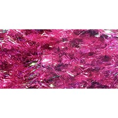 Festive Hot Pink Glitter Merry Christmas Tree  You Are Invited 3d Greeting Card (8x4)  by yoursparklingshop