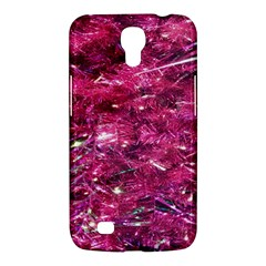 Festive Hot Pink Glitter Merry Christmas Tree  Samsung Galaxy Mega 6 3  I9200 Hardshell Case by yoursparklingshop