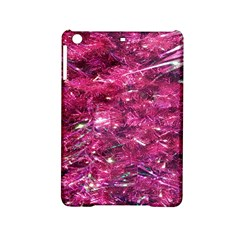 Festive Hot Pink Glitter Merry Christmas Tree  Ipad Mini 2 Hardshell Cases by yoursparklingshop