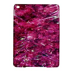 Festive Hot Pink Glitter Merry Christmas Tree  Ipad Air 2 Hardshell Cases by yoursparklingshop