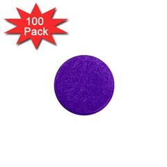 Festive Purple Glitter Texture 1  Mini Magnets (100 Pack)  by yoursparklingshop