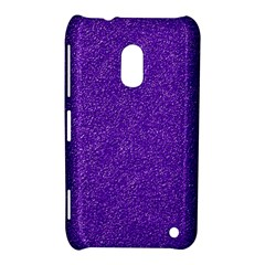 Festive Purple Glitter Texture Nokia Lumia 620 by yoursparklingshop