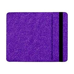 Festive Purple Glitter Texture Samsung Galaxy Tab Pro 8 4  Flip Case by yoursparklingshop