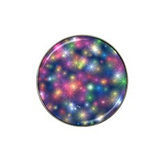 Starlight Shiny Glitter Stars Hat Clip Ball Marker (10 Pack) by yoursparklingshop