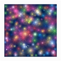 Starlight Shiny Glitter Stars Medium Glasses Cloth by yoursparklingshop