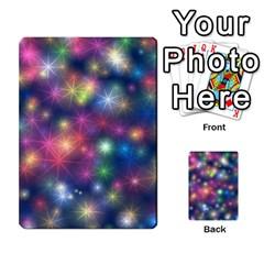 Starlight Shiny Glitter Stars Multi Purpose Cards (rectangle)  by yoursparklingshop