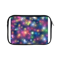 Starlight Shiny Glitter Stars Apple Ipad Mini Zipper Cases by yoursparklingshop