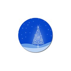 Blue White Christmas Tree Golf Ball Marker (10 Pack) by yoursparklingshop