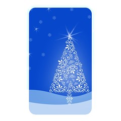 Blue White Christmas Tree Memory Card Reader by yoursparklingshop
