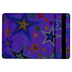 Purple Christmas Party Stars Ipad Air Flip by yoursparklingshop