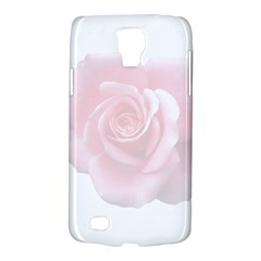 Pink White Love Rose Galaxy S4 Active by yoursparklingshop