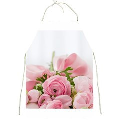 Romantic Pink Flowers Full Print Aprons by yoursparklingshop
