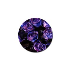 Purple Glitter Roses Valentine Love Golf Ball Marker (4 Pack) by yoursparklingshop