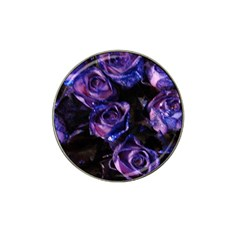 Purple Glitter Roses Valentine Love Hat Clip Ball Marker (10 Pack) by yoursparklingshop