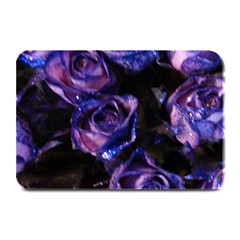 Purple Glitter Roses Valentine Love Plate Mats by yoursparklingshop