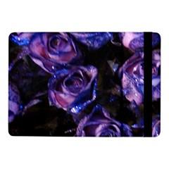 Purple Glitter Roses Valentine Love Samsung Galaxy Tab Pro 10 1  Flip Case by yoursparklingshop