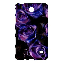 Purple Glitter Roses Valentine Love Samsung Galaxy Tab 4 (8 ) Hardshell Case  by yoursparklingshop