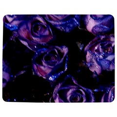 Purple Glitter Roses Valentine Love Jigsaw Puzzle Photo Stand (rectangular) by yoursparklingshop