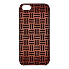 Woven1 Black Marble & Copper Brushed Metal (r) Apple Iphone 5c Hardshell Case by trendistuff