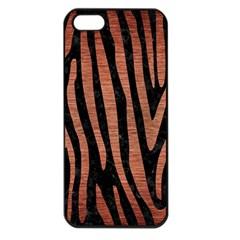 Skin4 Black Marble & Copper Brushed Metal (r) Apple Iphone 5 Seamless Case (black) by trendistuff