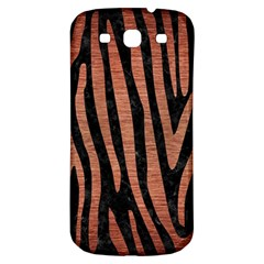 Skin4 Black Marble & Copper Brushed Metal (r) Samsung Galaxy S3 S Iii Classic Hardshell Back Case by trendistuff