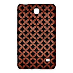 Circles3 Black Marble & Copper Brushed Metal Samsung Galaxy Tab 4 (7 ) Hardshell Case  by trendistuff