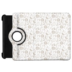 Elegant Seamless Floral Ornaments Pattern Kindle Fire Hd Flip 360 Case by TastefulDesigns