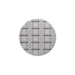 Geometric Diamonds Golf Ball Marker by yoursparklingshop