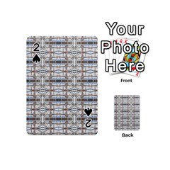 Geometric Diamonds Playing Cards 54 (Mini)  by yoursparklingshop