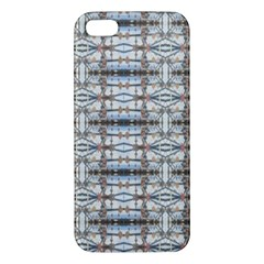Geometric Diamonds Apple Iphone 5 Premium Hardshell Case by yoursparklingshop