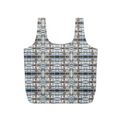 Geometric Diamonds Full Print Recycle Bags (s)  by yoursparklingshop