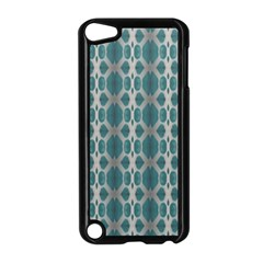 Tropical Blue Abstract Ocean Drops Apple Ipod Touch 5 Case (black) by yoursparklingshop