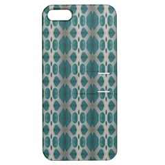 Tropical Blue Abstract Ocean Drops Apple Iphone 5 Hardshell Case With Stand by yoursparklingshop